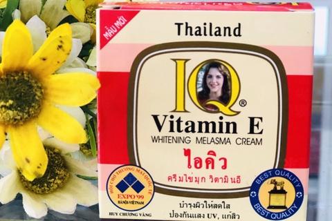 Xử phạt và thu hồi kem thoa mặt IQ chứa thuỷ ngân do Công ty Vương Kim Long sản xuất