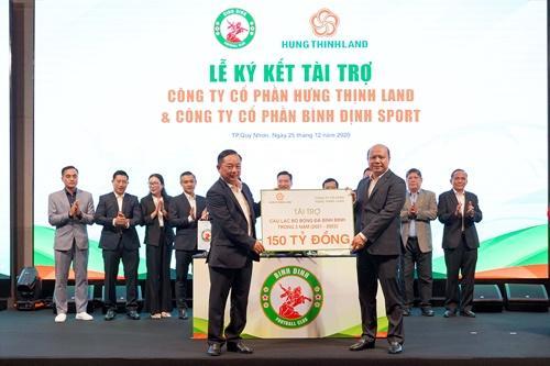Tin vui: Đội bóng miền đất Võ cũng chính thức đổi tên thành CLB bóng đá Topenland Bình Định