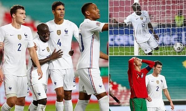 Pháp vào bán kết Nation League, Sergio Ramos đánh dấu mốc lịch sử