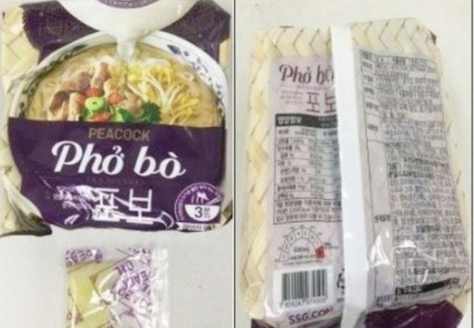 Sản phẩm Acecook Việt Nam bị thu hồi tại Hàn Quốc vì chứa chất gây ung thư