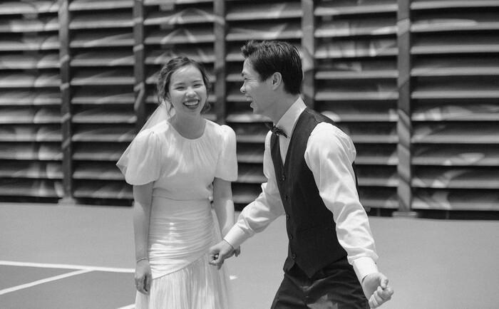 Ngắm ảnh cưới chưa từng tiết lộ của Công Phượng: Ngọt ngào và cực lãng mạn!