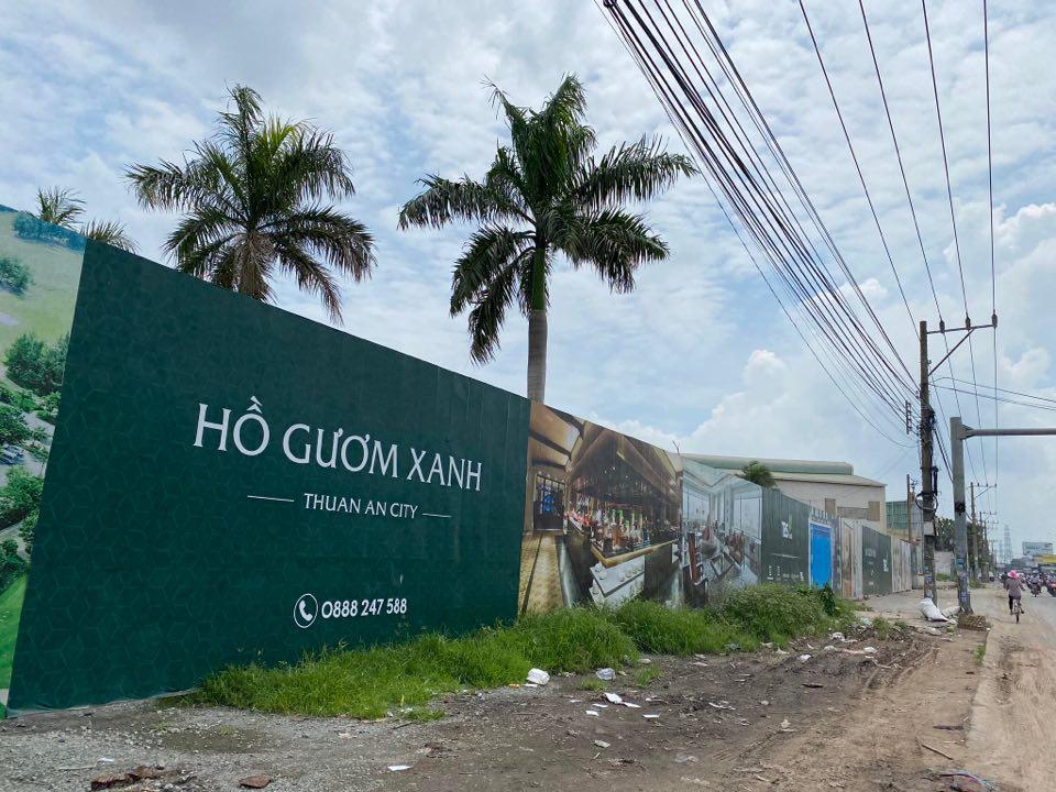 Bình Dương: Xử phạt chủ đầu tư công trình dự án Hồ Gươm Xanh