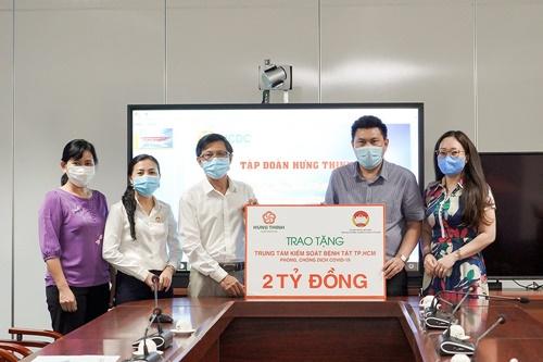 Tập đoàn Hưng Thịnh đã ủng hộ gần 45 tỷ đồng phòng, chống dịch Covid-19